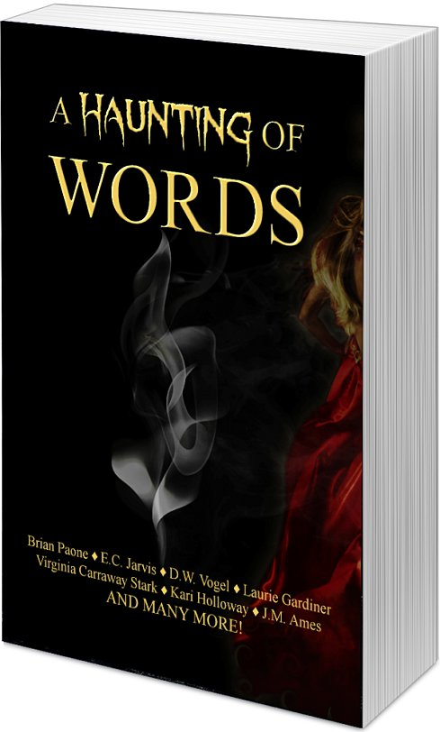 A Haunting of Words front cover